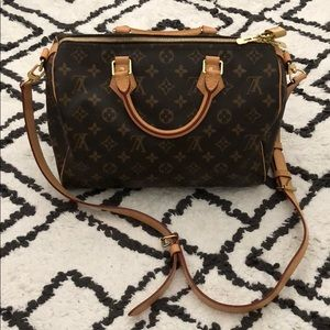 Louis Vuitton Speedy 30 Bandoliere